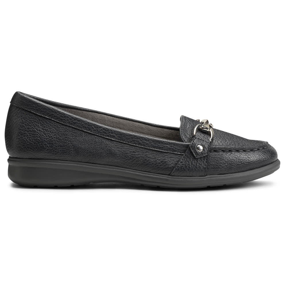 AEROSOLES Women's Time Limit Loafers - BLACK-001