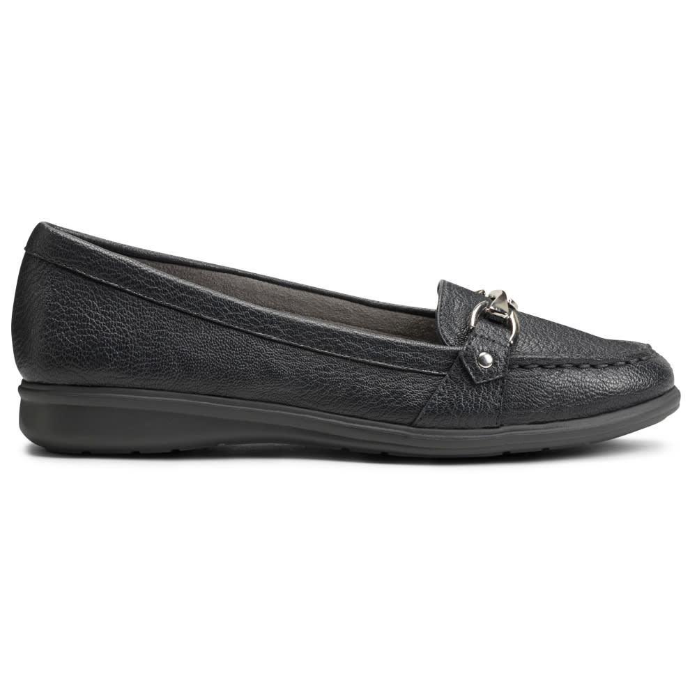 Aerosoles Women's Time Limit Loafers - Black, 5