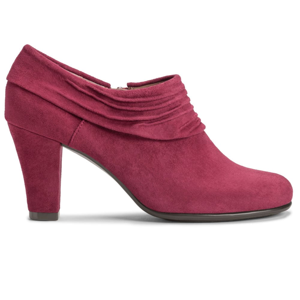 AEROSOLES Women's Starring Role Booties - WINE-534