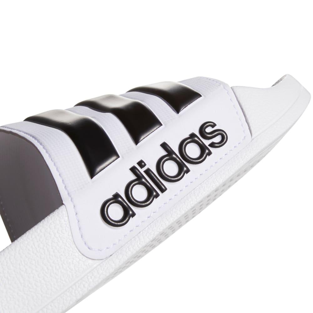 ADIDAS Men's Adilette Cloudfoam Slides - WHITE-AQ1702
