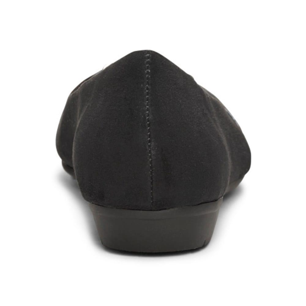 AEROSOLES Women's Ultrabrite Flats - BLACK-095