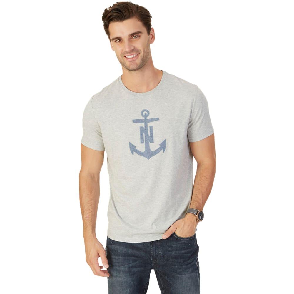 NAUTICA Men's Anchor Graphic Short-Sleeve Tee L