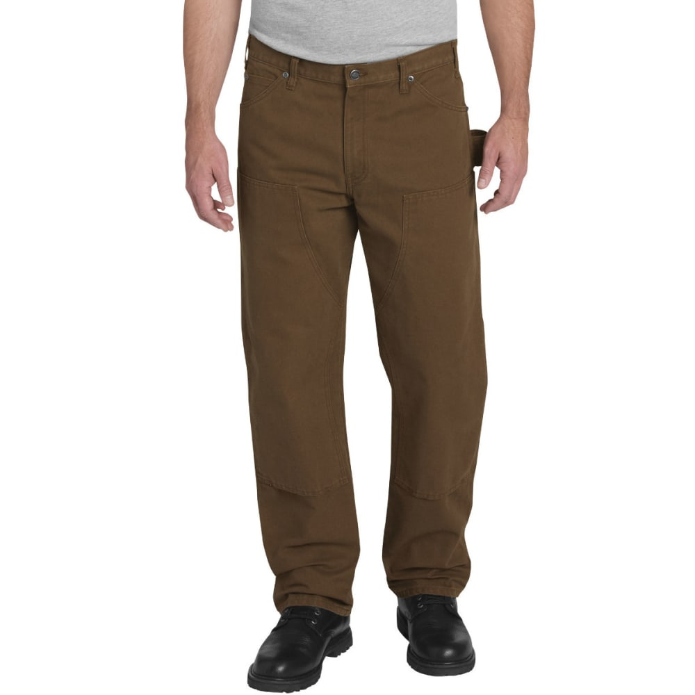 DICKIES Men's Relaxed Fit Straight Leg Double Front Duck Pant - RNSD TIMBER-TRB