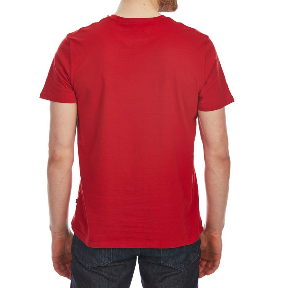 NAUTICA Men's Heritage Graphic Short-Sleeve Tee - NAUTICAL RED-6NR