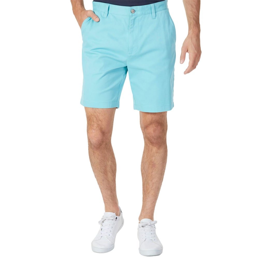 NAUTICA Men's Classic Fit Deck Shorts - AQUA-4N5