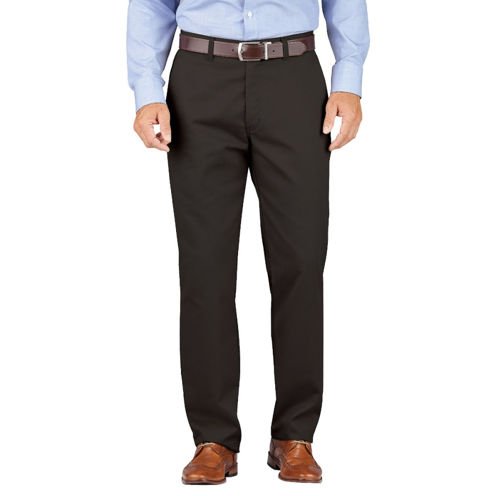 Dickies Men's Dickies Khaki Relaxed Fit Tapered Leg Comfort Waist Pant
