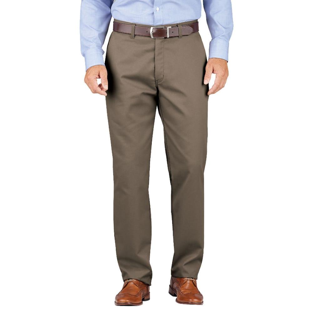 DICKIES Men's Dickies KHAKI Relaxed Fit Tapered Leg Comfort Waist Pant 30/30