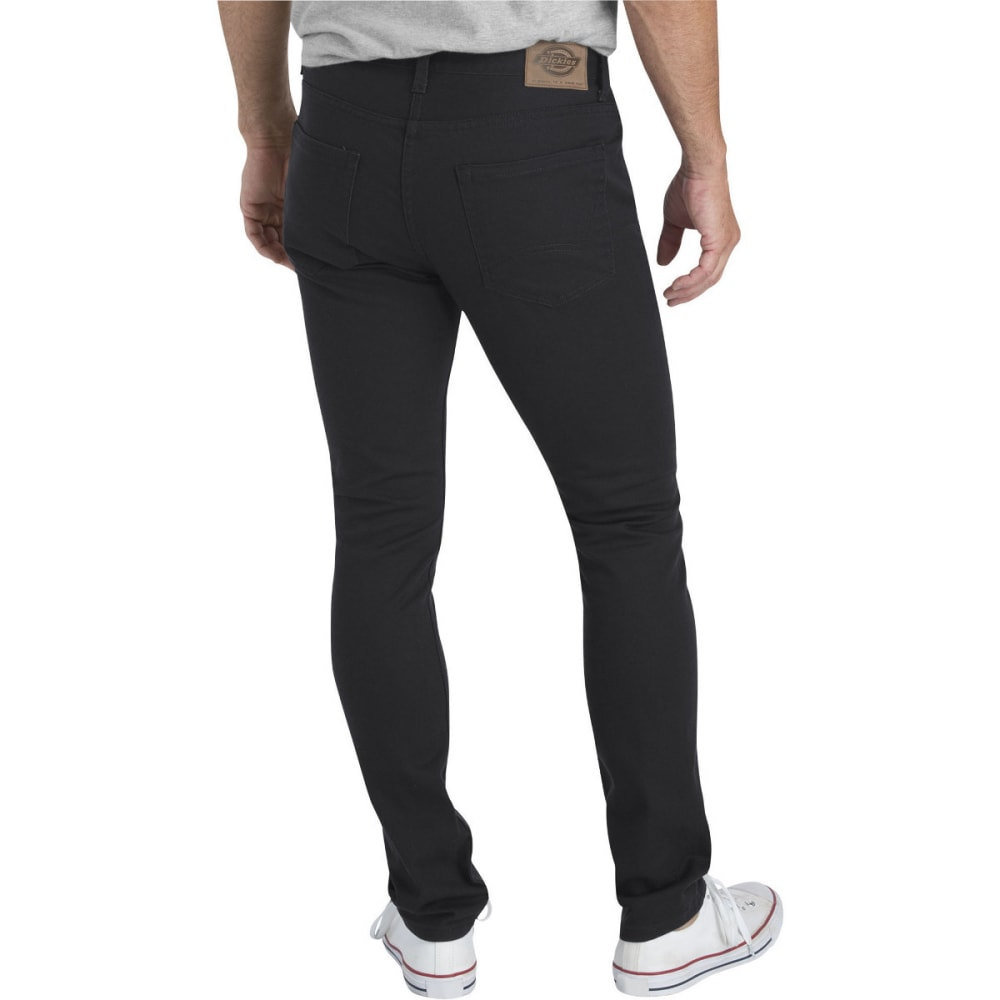 DICKIES Men's Dickies X-Series Slim Fit Skinny Leg 5-Pocket Flex Pant - RNSD BLACK-RBK