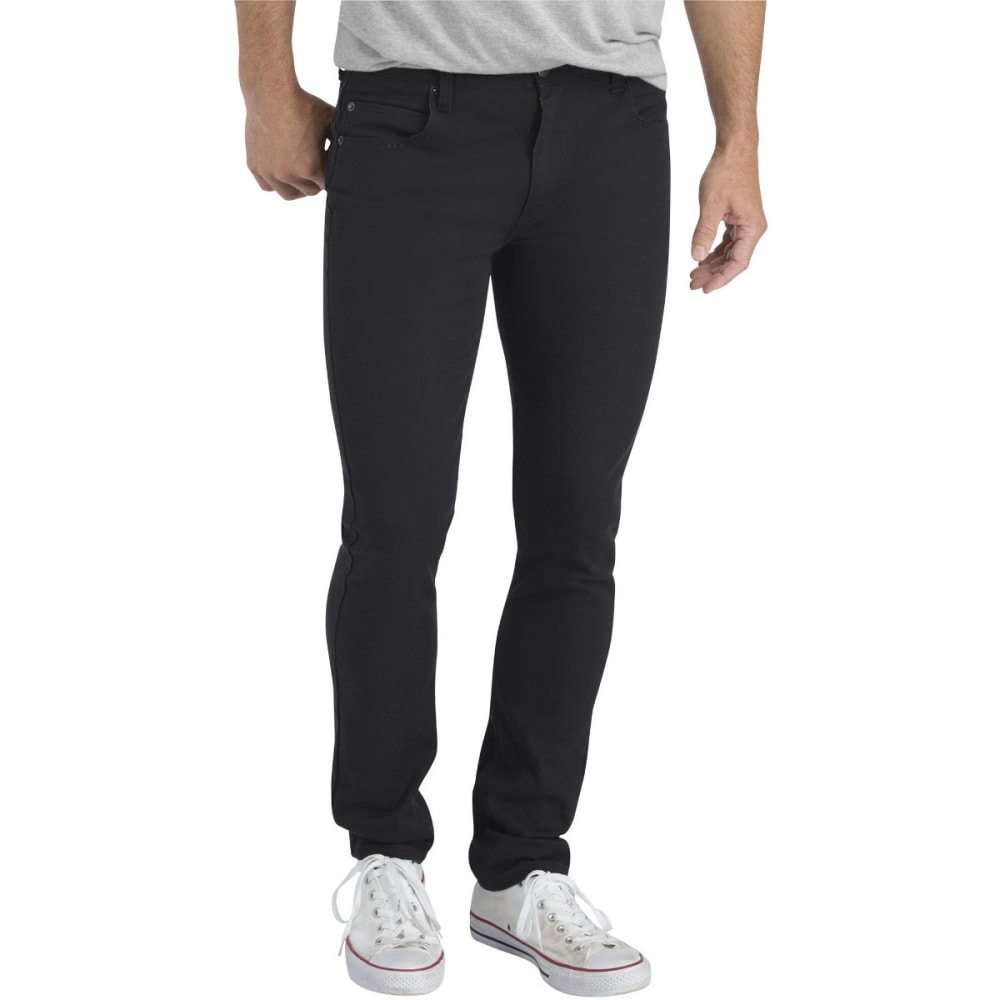 Dickies Men's Dickies X-Series Slim Fit Skinny Leg 5-Pocket Flex Pant - Black, 28/30