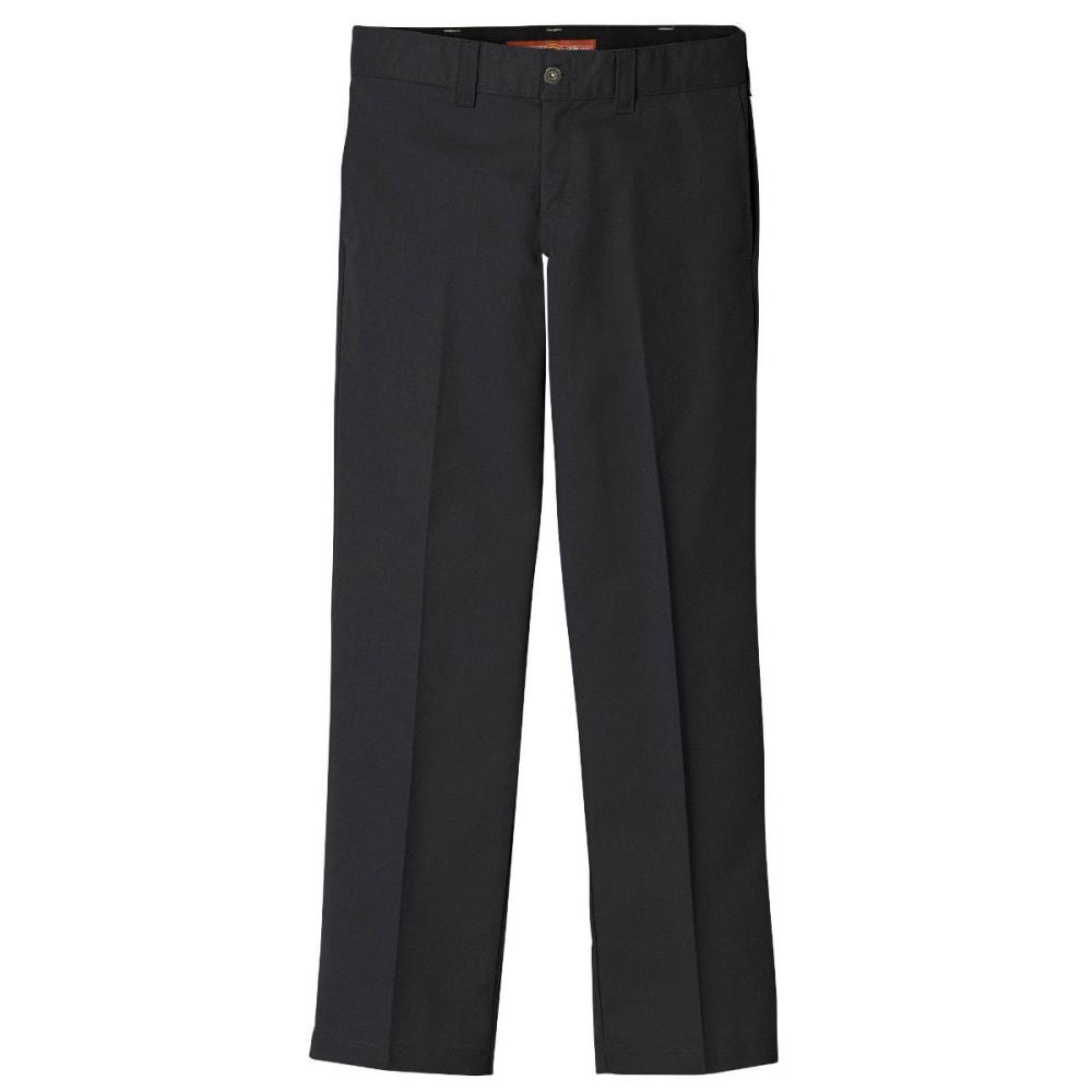 DICKIES Men's Dickies '67 Regular Fit Straight Leg Kevlar Twill Pant - BLACK-BK