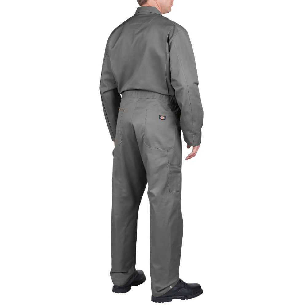 DICKIES Men's Deluxe Cotton Coverall, Extended Sizes - GRAY-GY