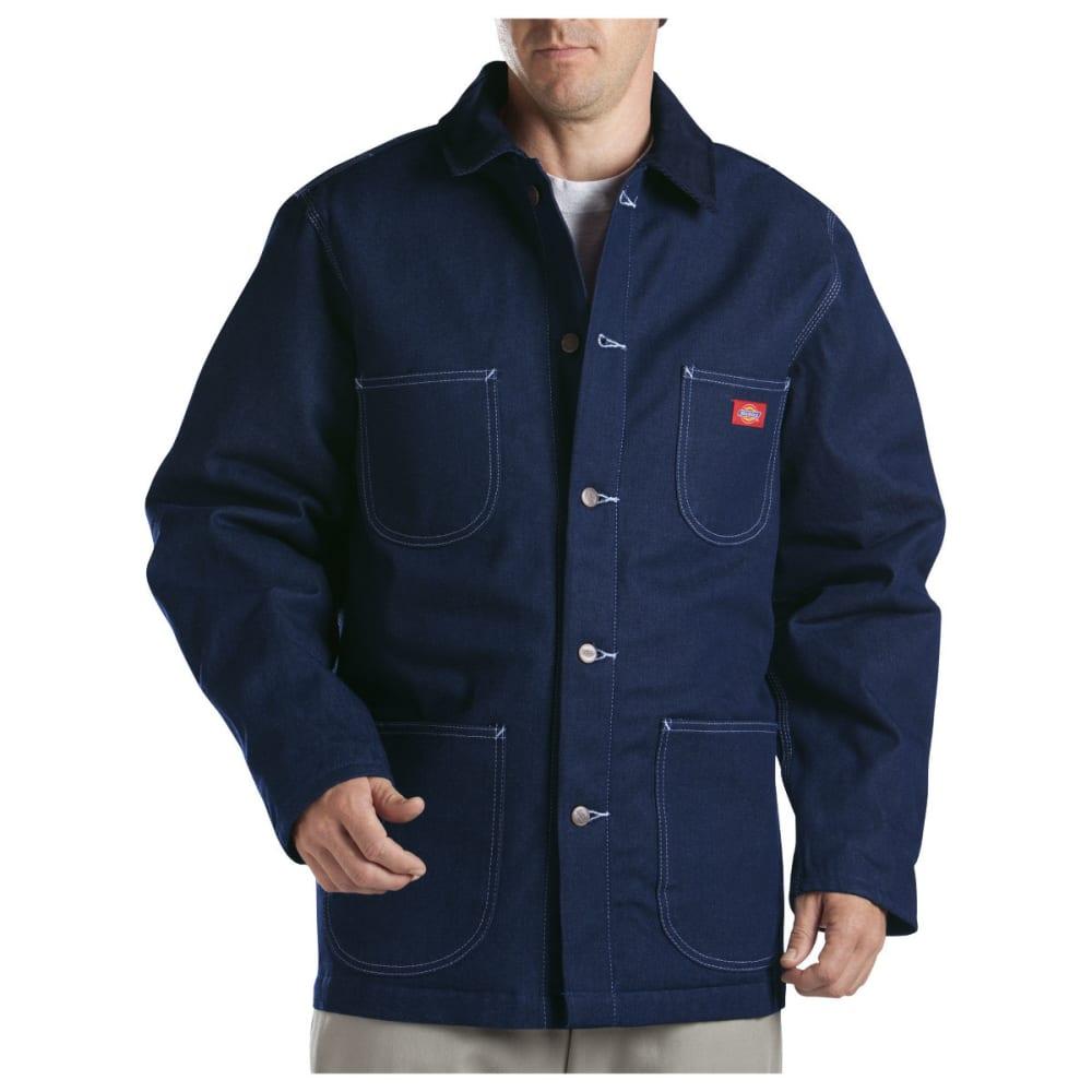 DICKIES Men's Denim Blanket Lined Chore Coat, Indigo Blue - INDIGO BLUE-NB