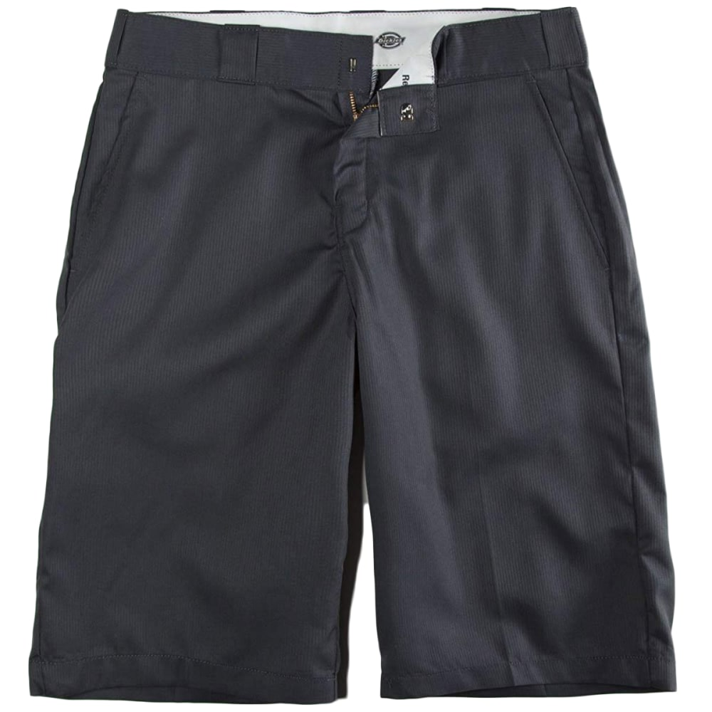 DICKIES Men's 13 in. Regular Fit Shadow Stripe Shorts - CHARCOAL-CH