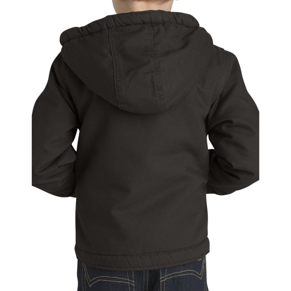 DICKIES Boys' 4-7 Sherpa Lined Duck Jacket - RNSD BLACK-RBK