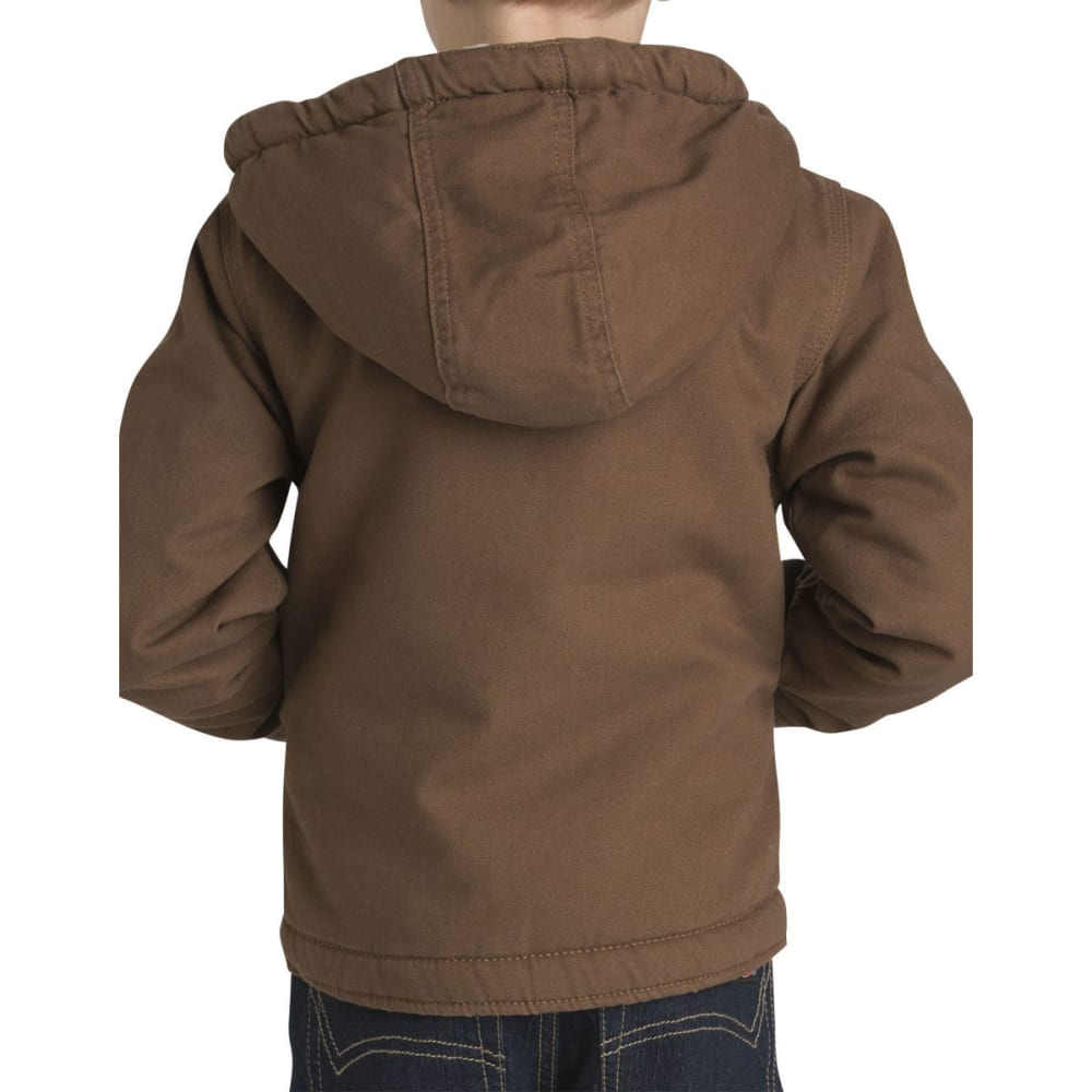 DICKIES Boys' 4-7 Sherpa Lined Duck Jacket - RNSD TIMBER-RTB