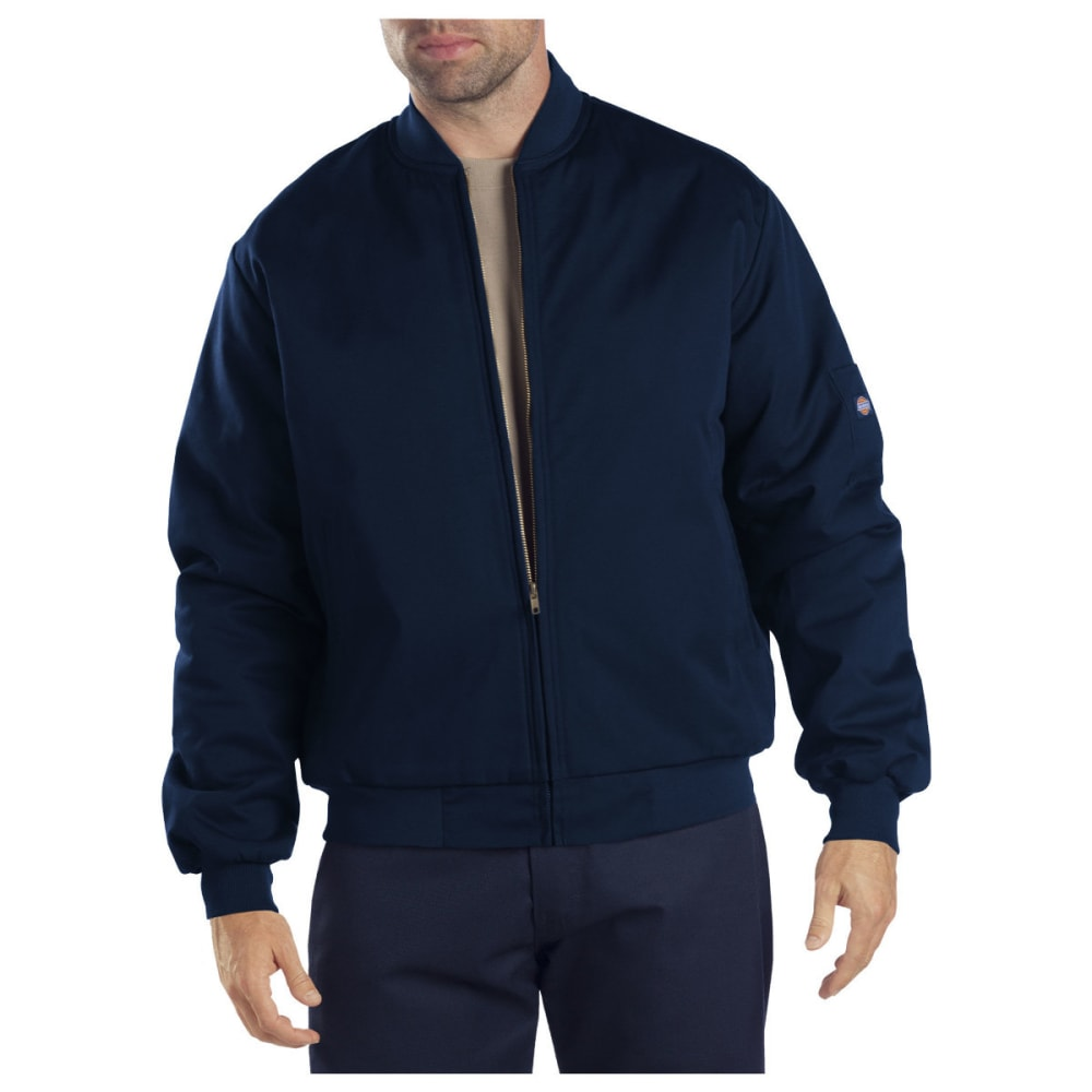 DICKIES Men's Lined Team Jacket - DARK NAVY-DN