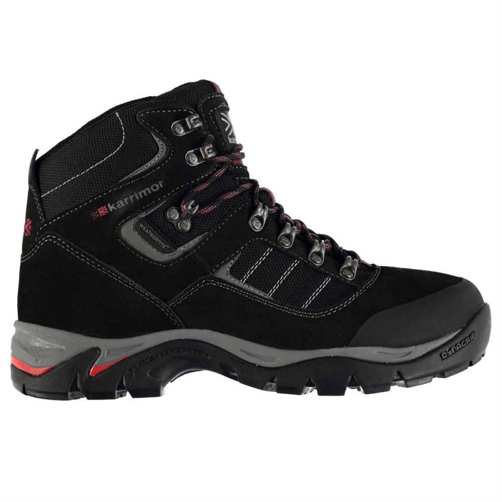 KARRIMOR Men's KSB 200 Waterproof Mid Hiking Boots - CHARCOAL