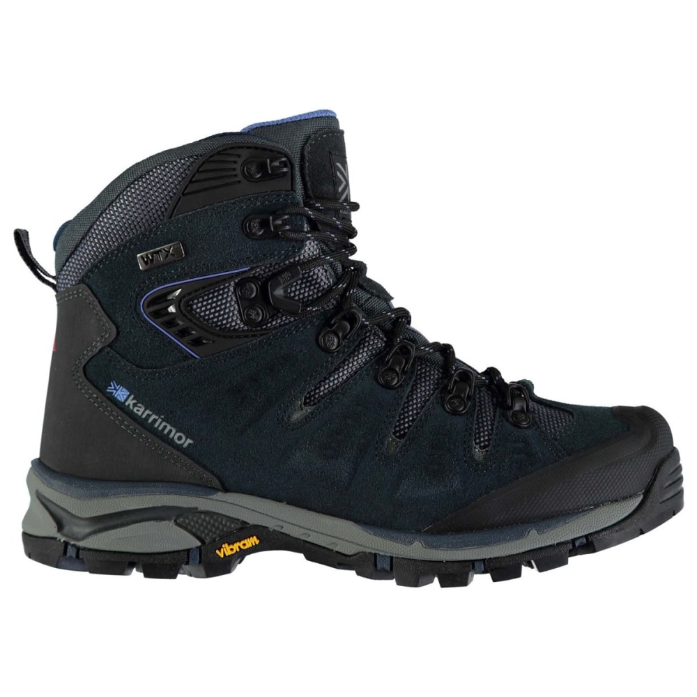 KARRIMOR Women's Leopard Waterproof Mid Hiking Boots - NAVY