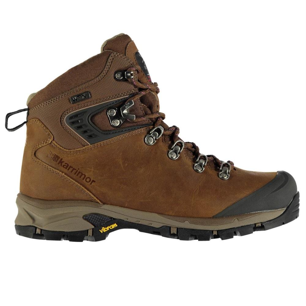 KARRIMOR Women's Cheetah Waterproof Mid Hiking Boots - BROWN