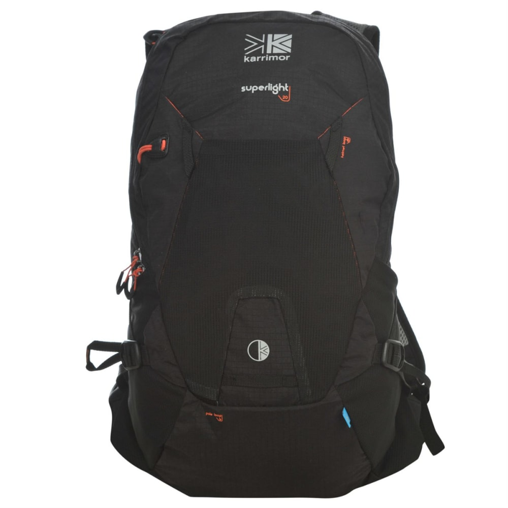 Karrimor Superlight 20 Backpack - Black, ONESIZE