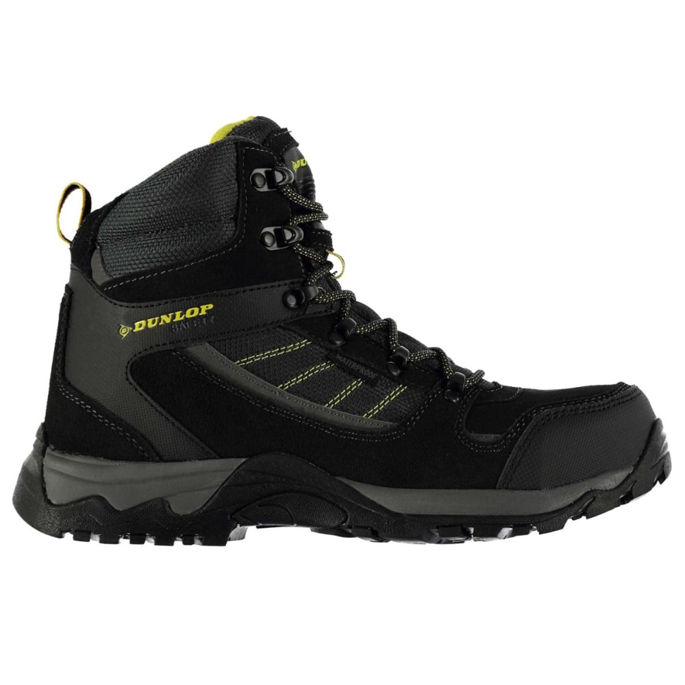 DUNLOP Men's Safety Hiker Waterproof Steel Toe Work Boots 8