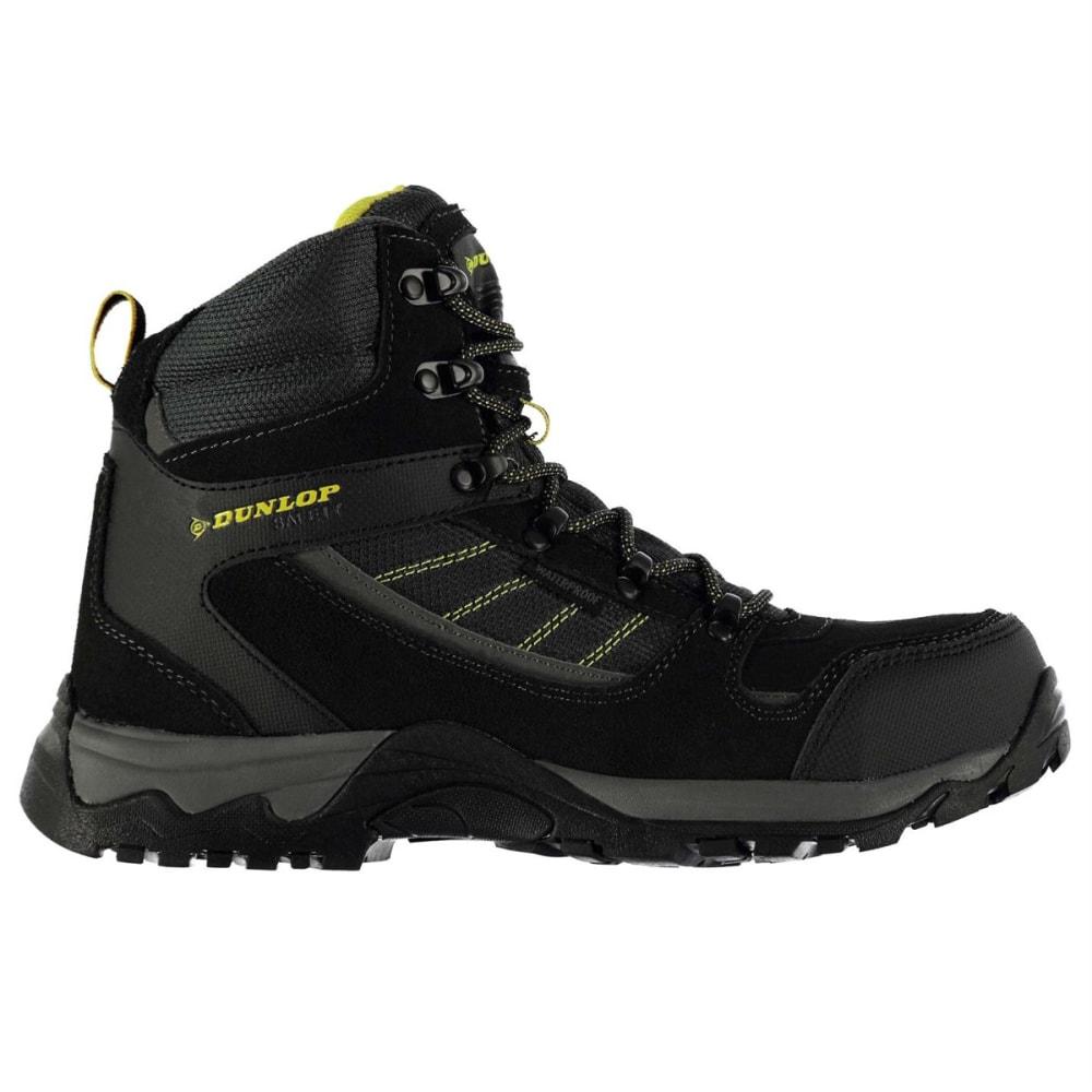 DUNLOP Men's Safety Hiker Waterproof Steel Toe Work Boots - Black Sea