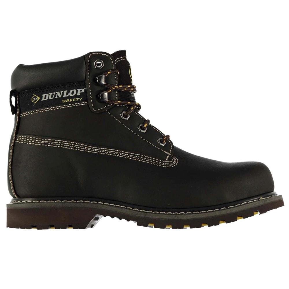 Dunlop Men's Nevada Steel Toe Work Boots - Brown, 10