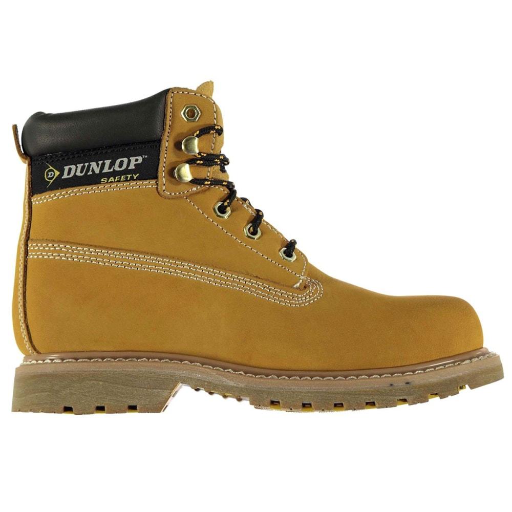 DUNLOP Men's Nevada Steel Toe Work Boots - HONEY