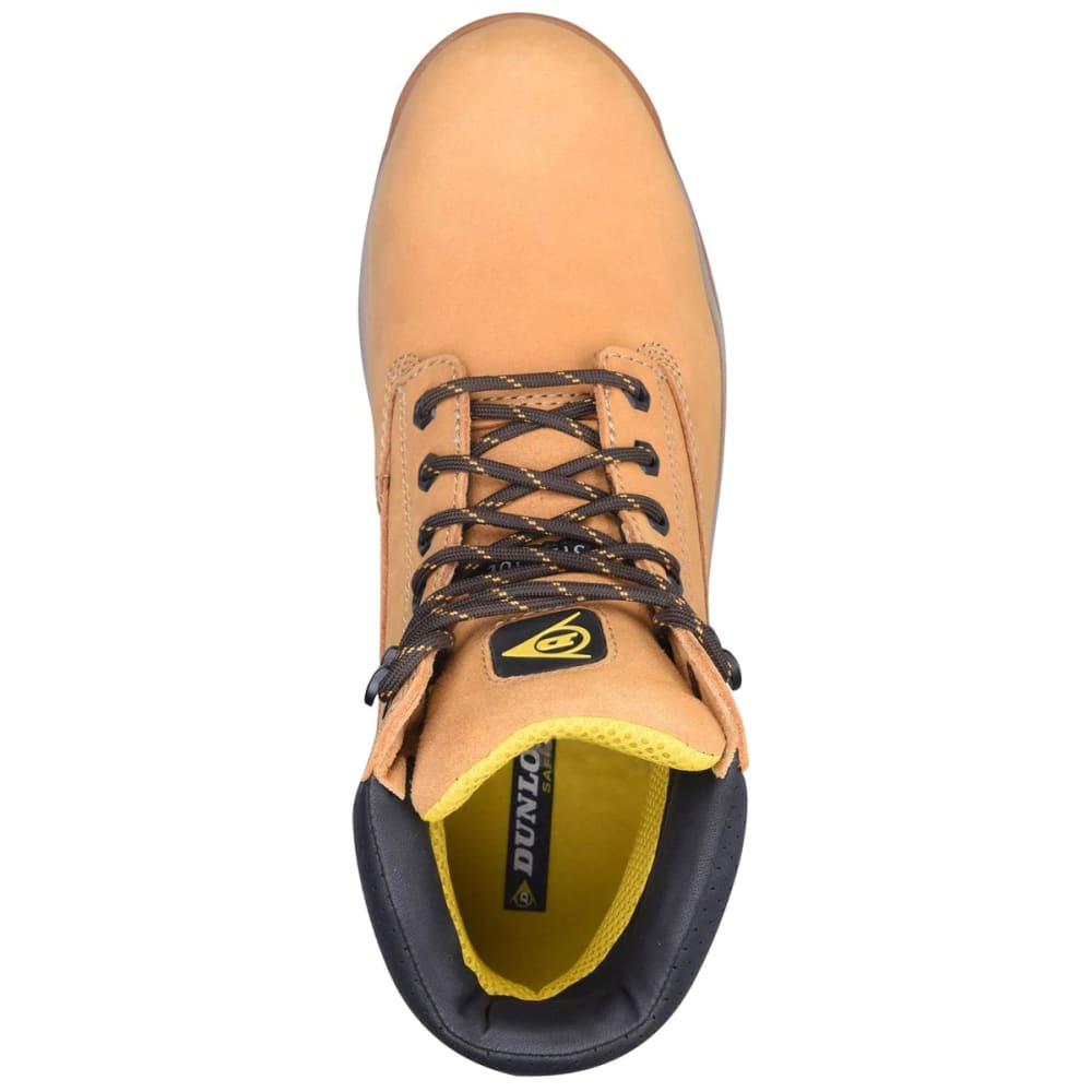 DUNLOP Men's Safety On-Site Steel Toe Work Boots - HONEY