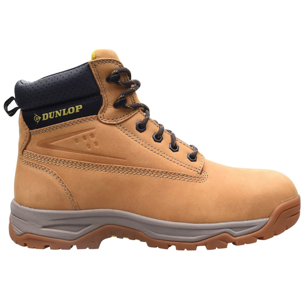 DUNLOP Men's Safety On-Site Steel Toe Work Boots 8