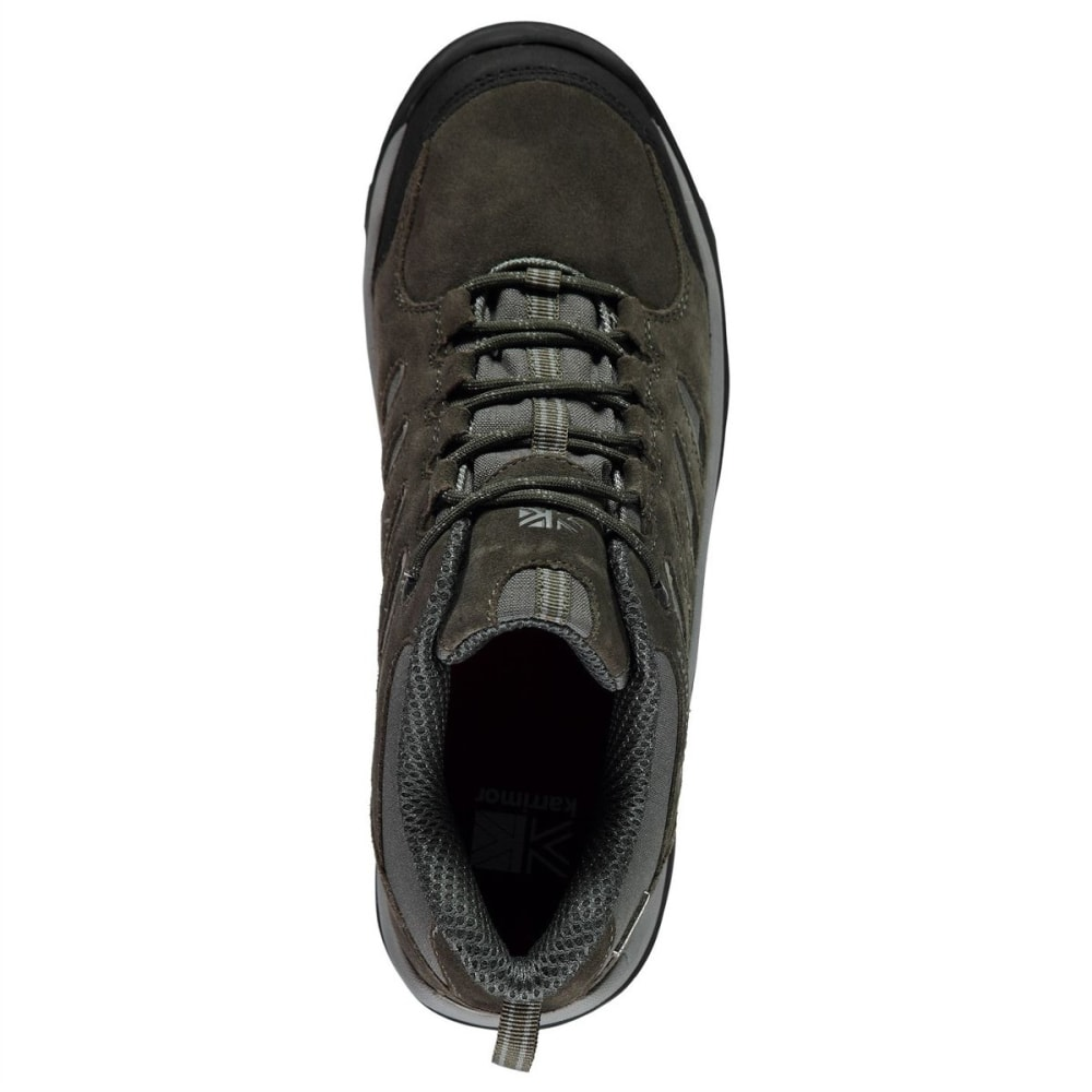 KARRIMOR Men's Aspen Low Waterproof Hiking Shoes - Black Sea