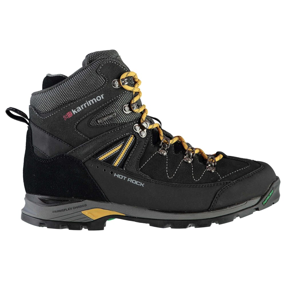 KARRIMOR Men's Hot Rock Waterproof Mid Hiking Boots - BLACK