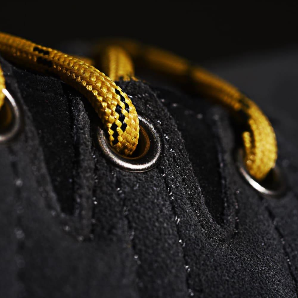 KARRIMOR Men's Hot Rock Waterproof Low Hiking Shoes - CHARCOAL/YELLOW