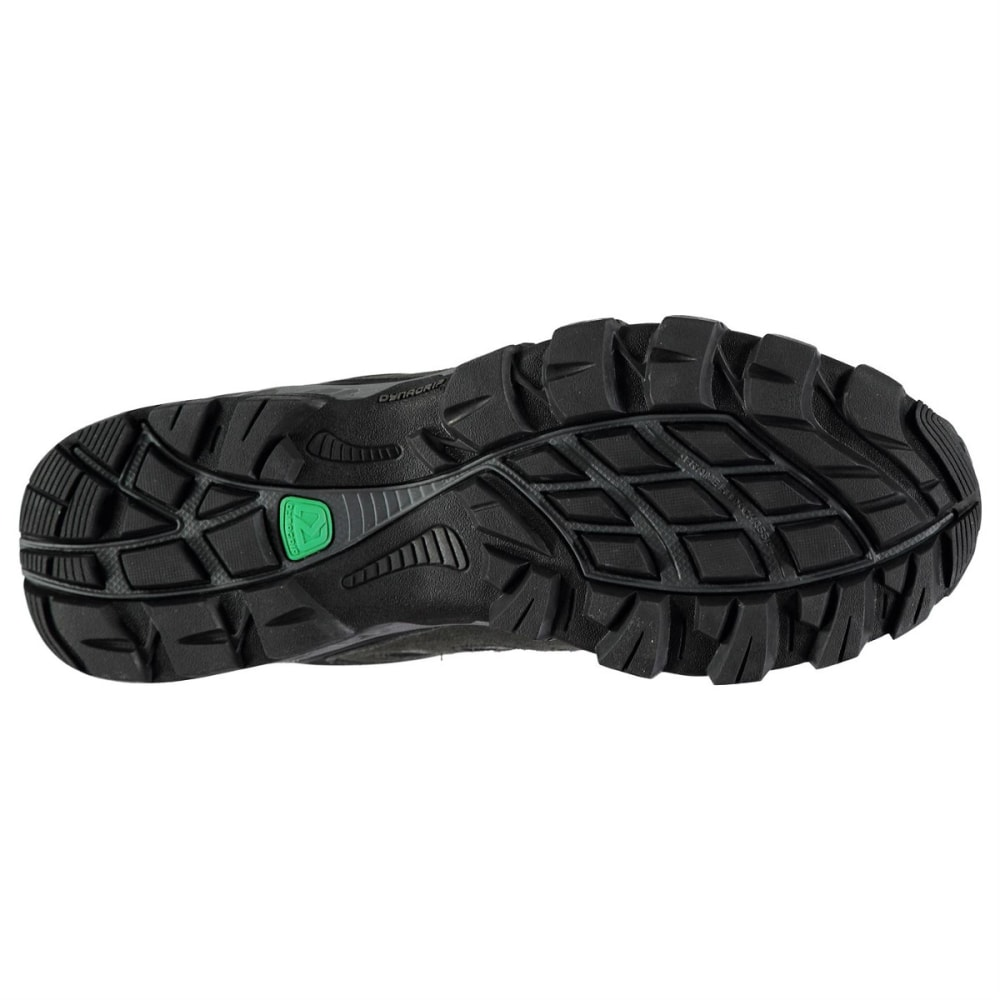 KARRIMOR Men's Merlin Waterproof Low Hiking Shoes - CHARCOAL