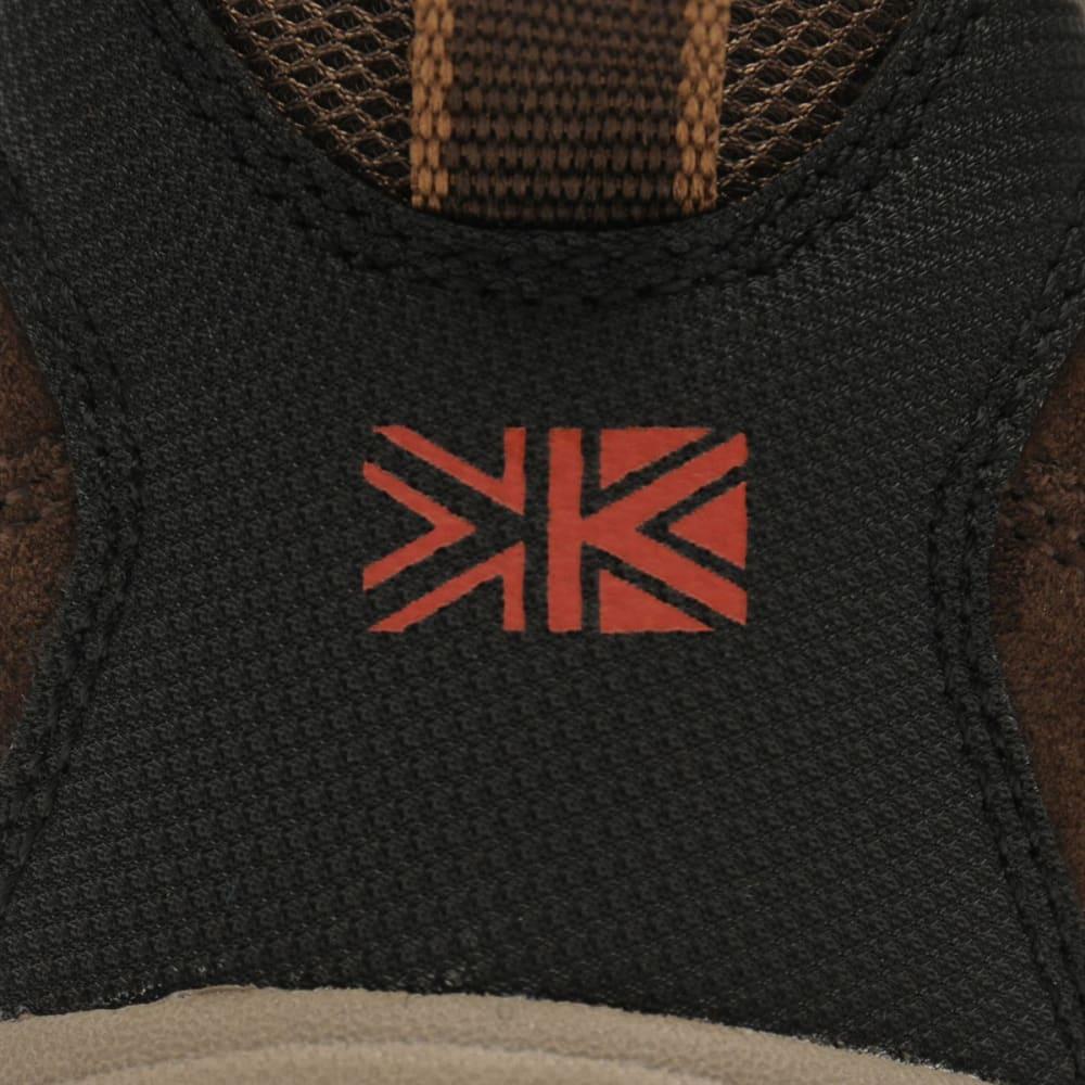 KARRIMOR Men's Mount Low Waterproof Hiking Shoes - BROWN
