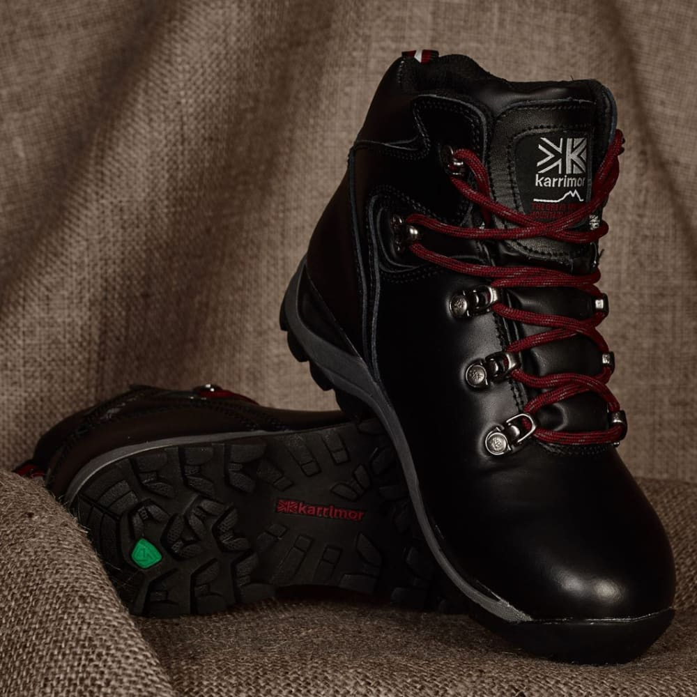 KARRIMOR Little Kids' Skido Mid Hiking Boots - BLACK