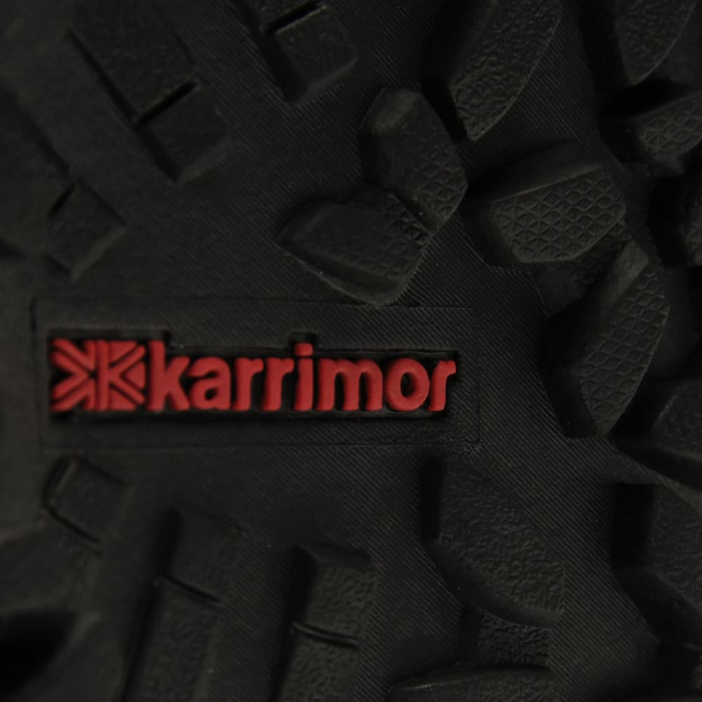 KARRIMOR Big Kids' Skido Waterproof Mid Hiking Boots - BLACK