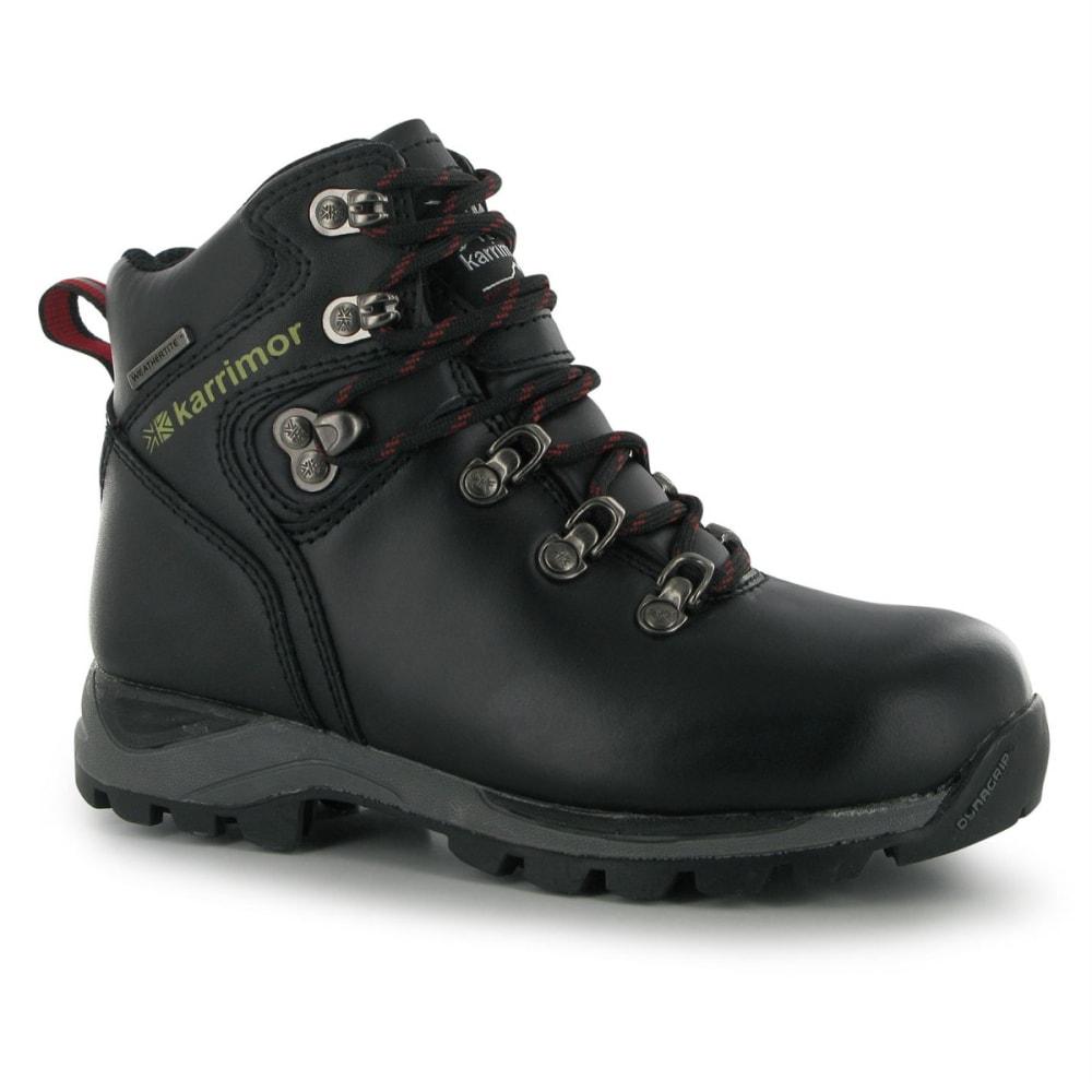 KARRIMOR Big Kids' Skido Waterproof Mid Hiking Boots 3.5
