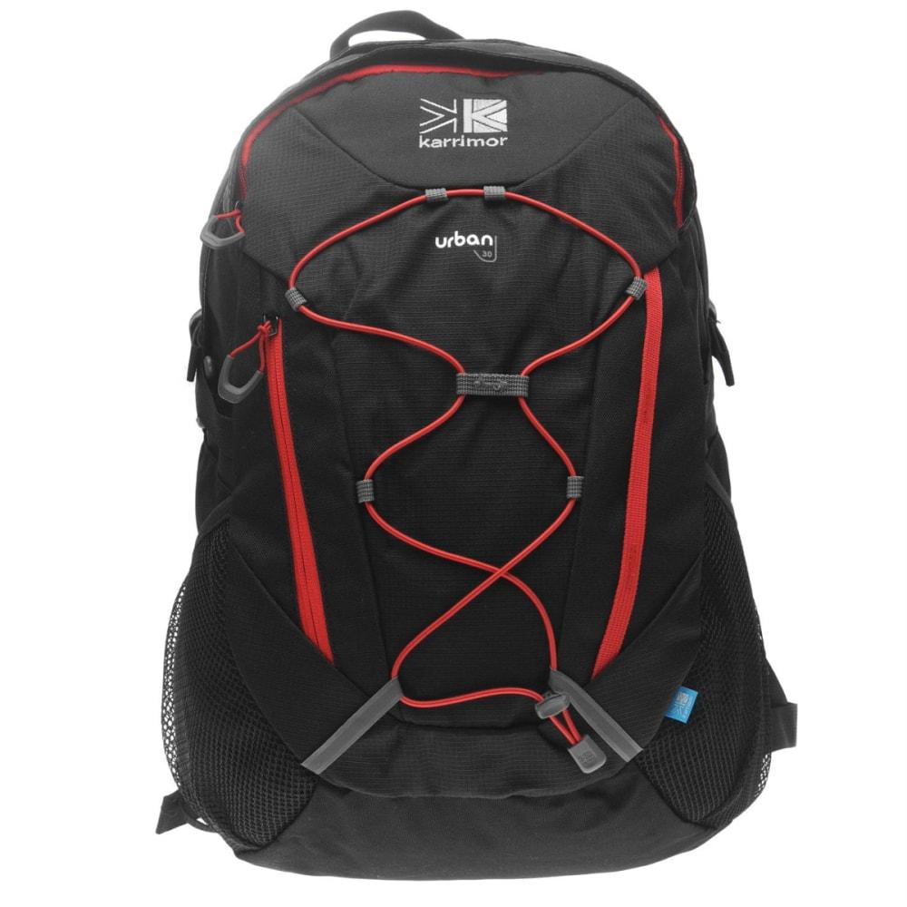 KARRIMOR Urban 30 Backpack - Black/Red Z