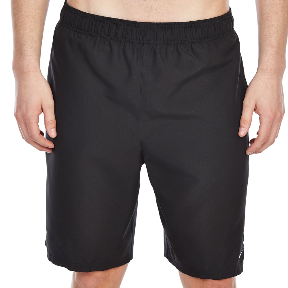 NIKE Men's 9 in. Volley Shorts - BLACK-001