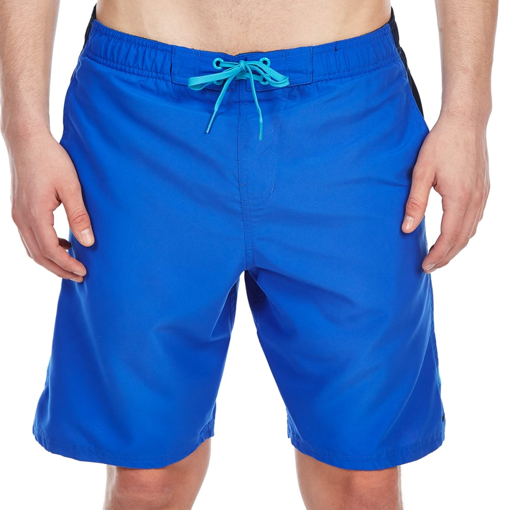 NIKE Men's 9 in. Pieced Volley Shorts - HYPERBLUE-416