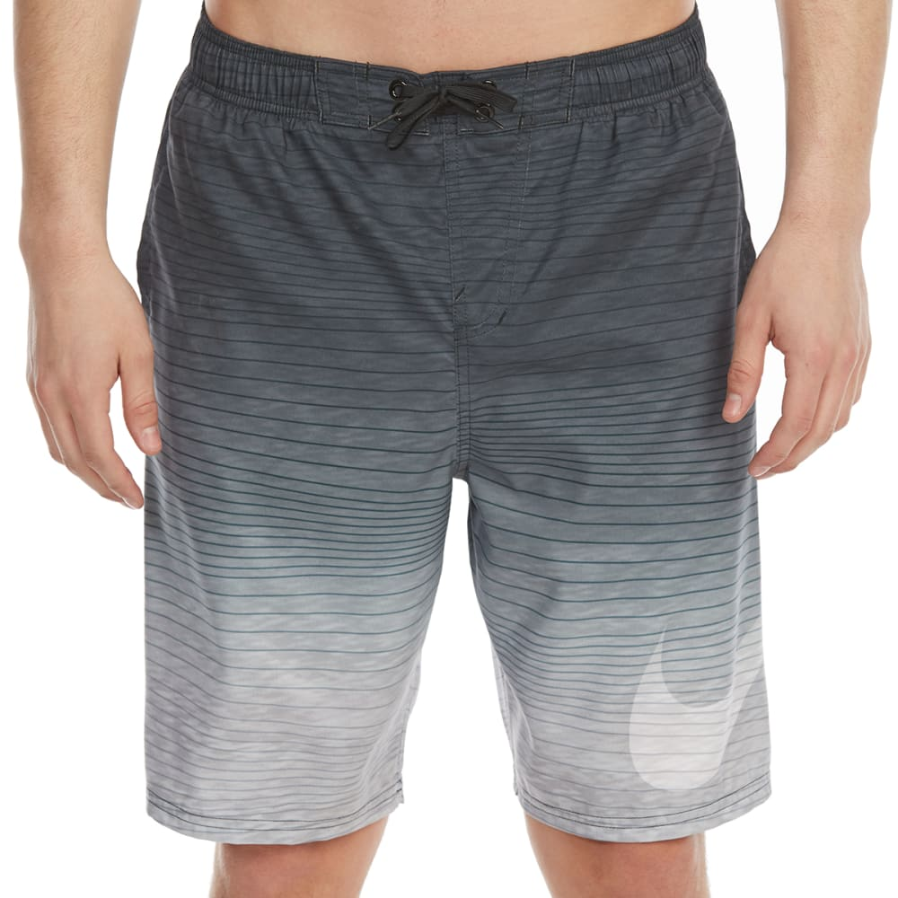 Nike Men's 9 In. Hero Volley Shorts - Black, M