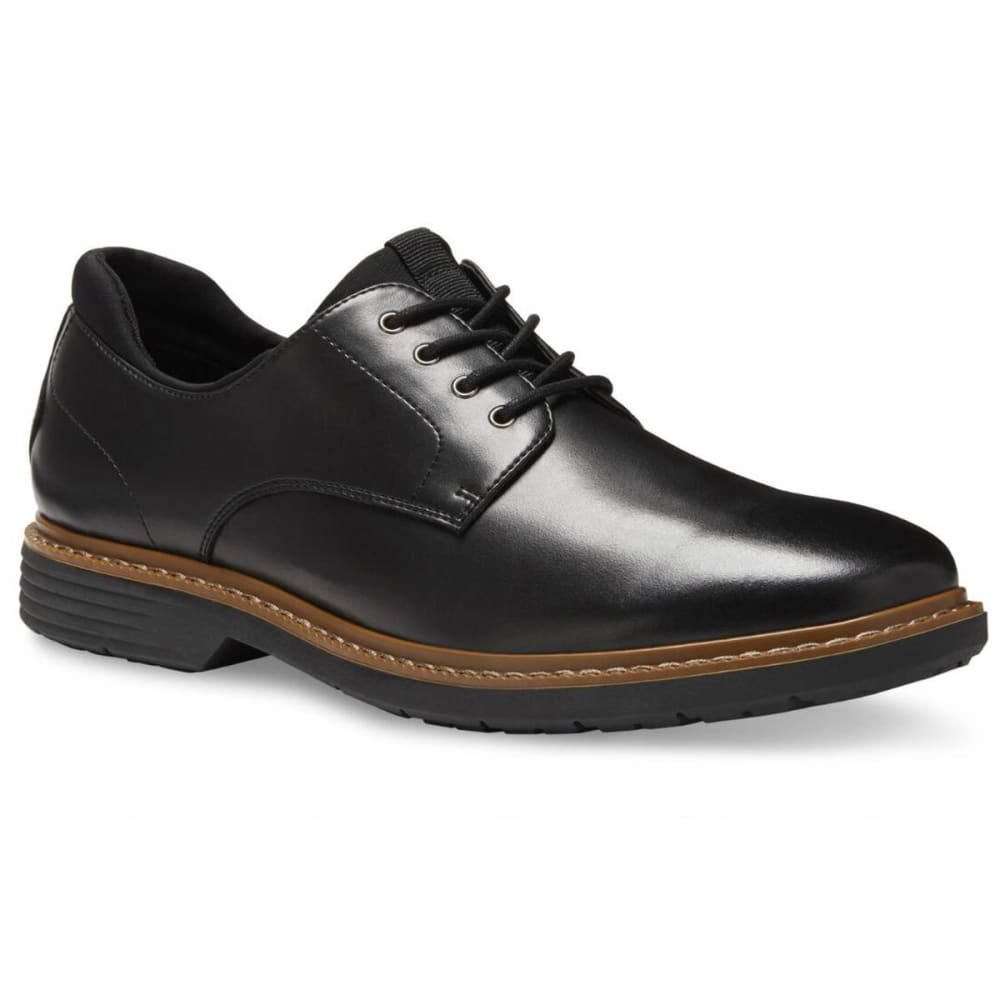 Eastland Men's Parker Plain Toe Oxford Dress Shoes - Black, 8