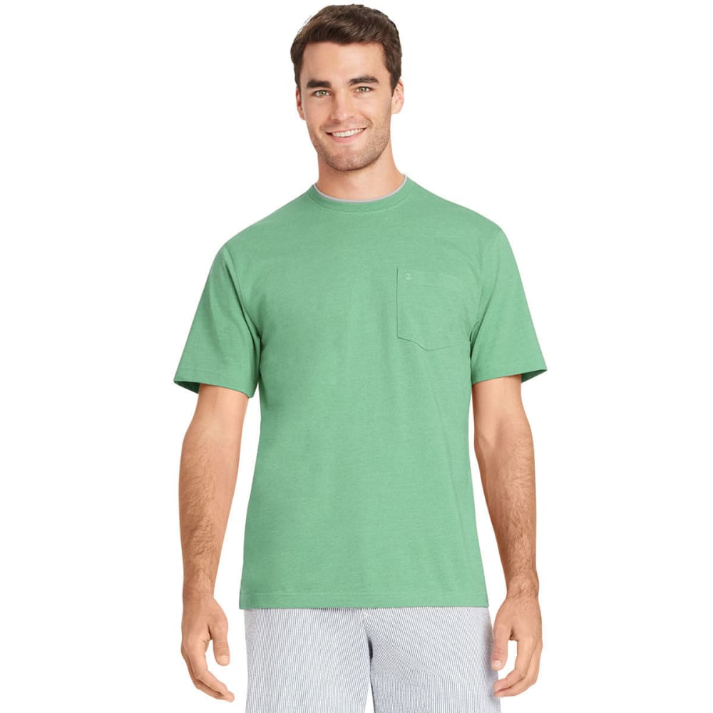 IZOD Men's Chatham Point Pocket Short-Sleeve Tee - DUSTY JADE-365