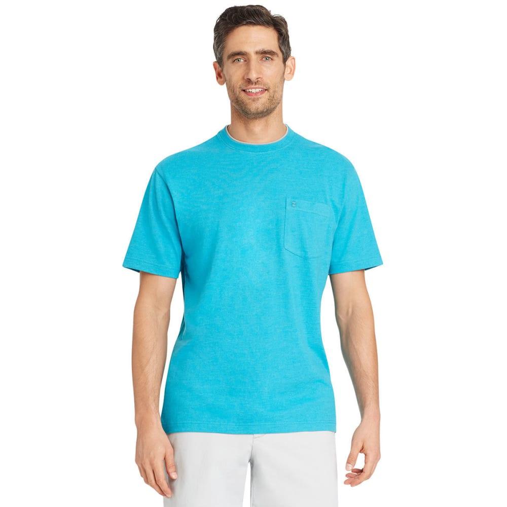 IZOD Men's Chatham Point Pocket Short-Sleeve Tee - ALGIERS BLUE-431
