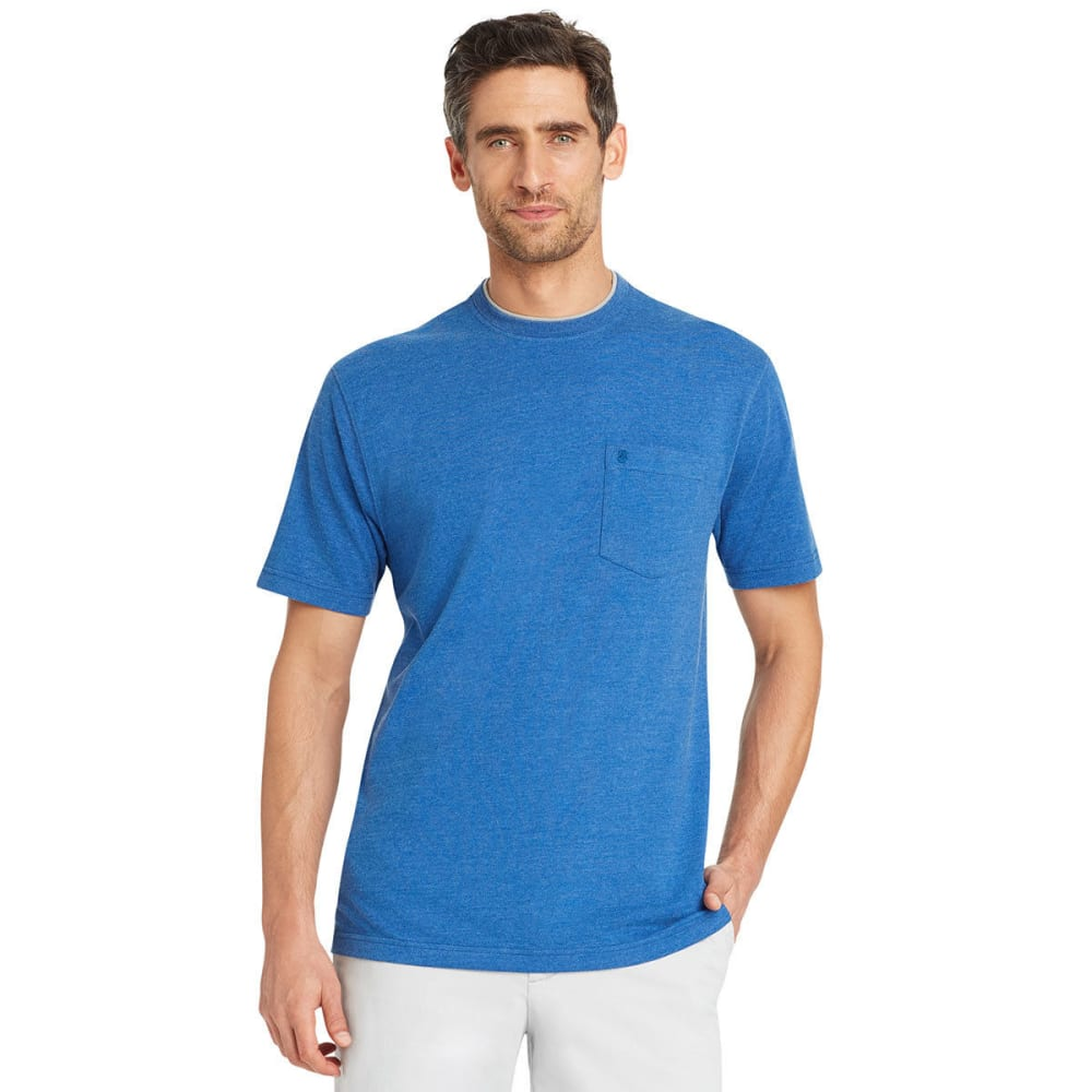 IZOD Men's Chatham Point Pocket Short-Sleeve Tee - TRUE BLUE-426