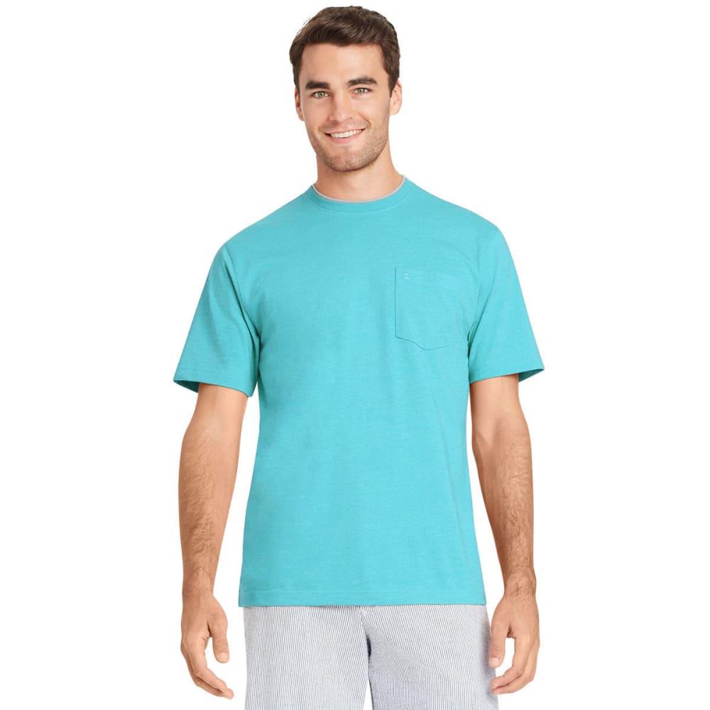 IZOD Men's Chatham Point Pocket Short-Sleeve Tee - BLUE RADIANCE-477
