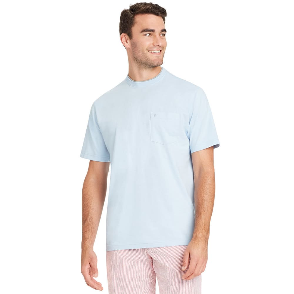 IZOD Men's Chatham Point Pocket Short-Sleeve Tee - CLEAR AIR-415