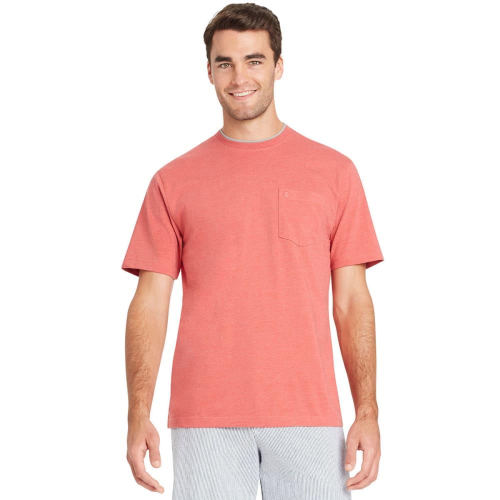 IZOD Men's Chatham Point Pocket Short-Sleeve Tee - SALTWATER RED-648