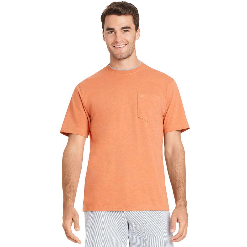 IZOD Men's Chatham Point Pocket Short-Sleeve Tee - PAPAYA PUNCH-801